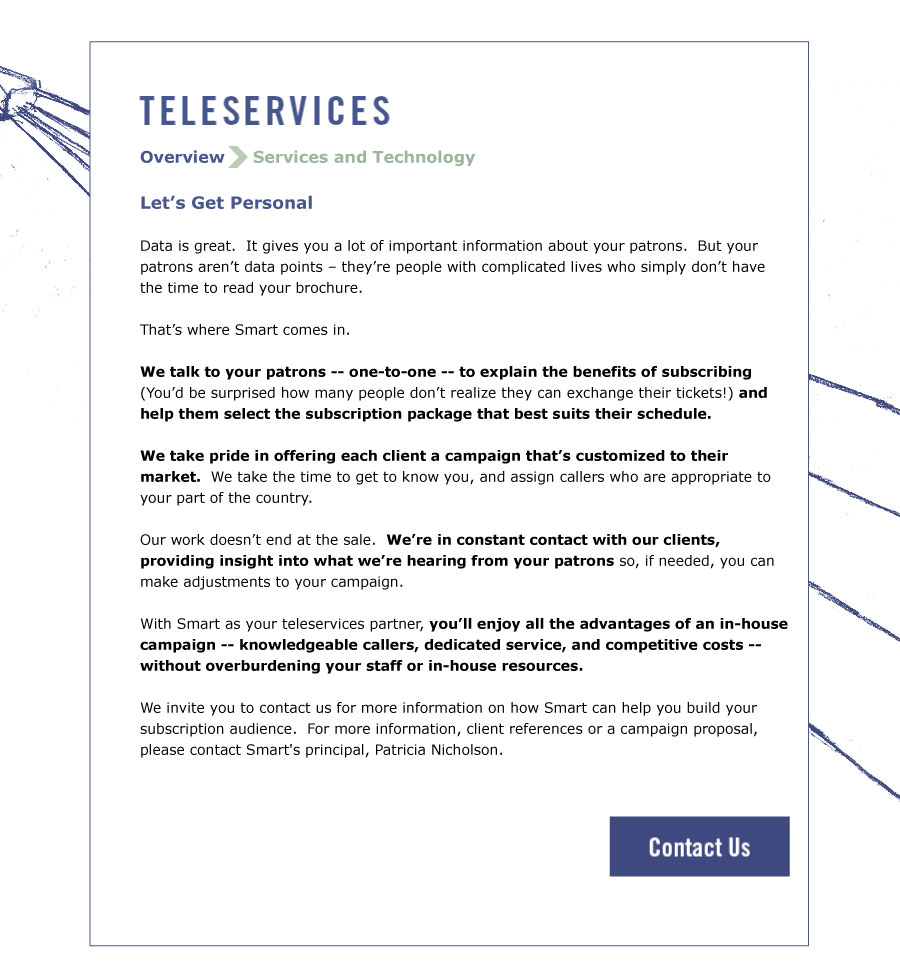 Teleservices Overview